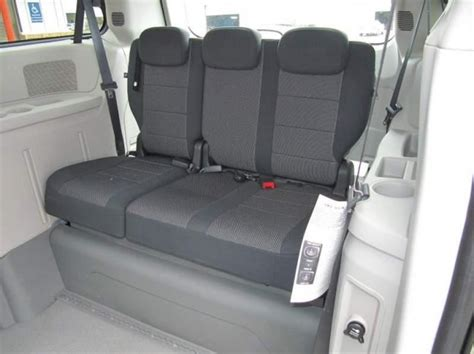 dodge caravan bench seat how a rear bench seat helps the disabled driver driving