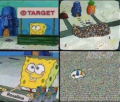 Komik Monika Original amiibo spongebob s hype stand your meme