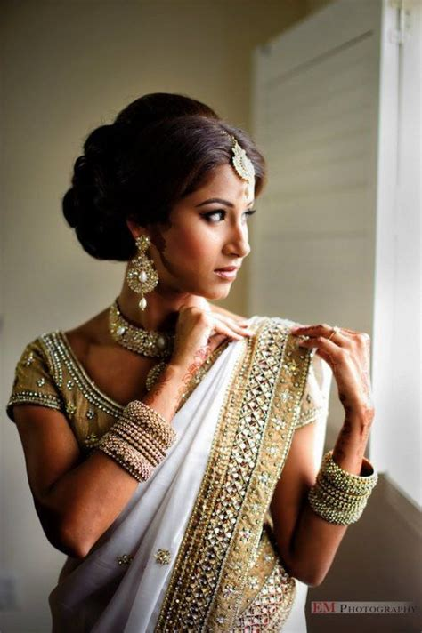 wedding hairstyles history beautiful indian brides fashion history e s a pinterest