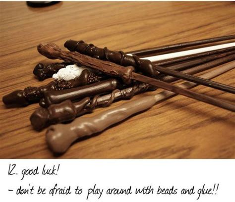 How To Make A Paper Harry Potter Wand - how to make harry potter style wands 12 pics izismile