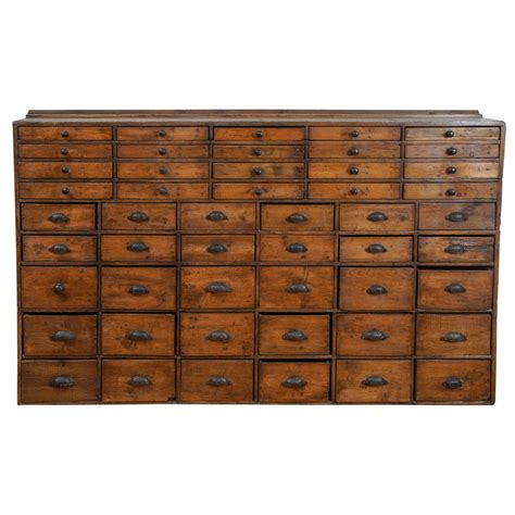 Pharmacy Drawers by 50 Drawer Pharmacy Apothecary At 1stdibs