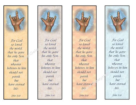 Printable Sign Language Bookmarks | instant printable bookmarks love sign by freshairprintables