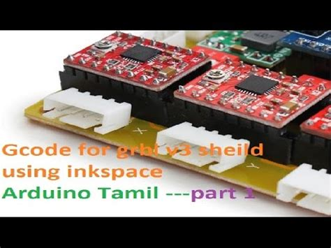 inkscape tutorial in tamil how to generate gcode for grbl v3 shield 3 axis cnc usi