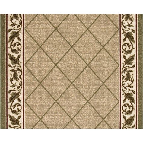 multy home multy home regent 26 in x 70 ft roll rug runner