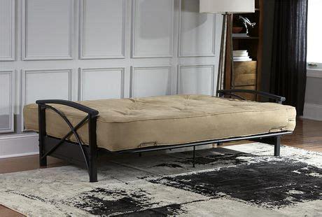 dhp 8 inch futon mattress dhp 8 inch microfiber coil futon mattress walmart ca