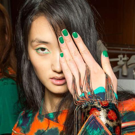 nail polish trends  fashion week spring