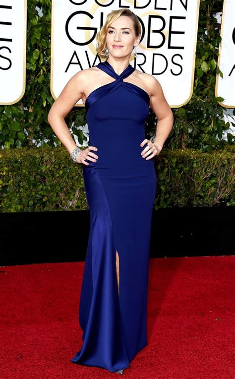 Kate Winslet At The Golden Globes by Kate Winslet S Dewy Skin Golden Globes 2016