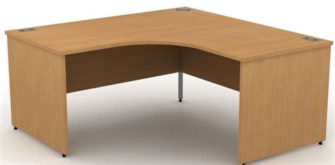 Large Corner Desks Large Corner Desks With Panel Sides Avalon 1400mm Desk Reality