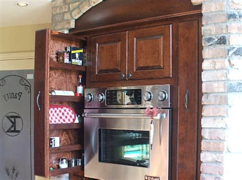 narrow sliding cabinet kitchen remodel ideas