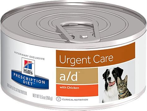 hill s prescription diet a d urgent care with chicken canned cat food 5 5 oz of 24