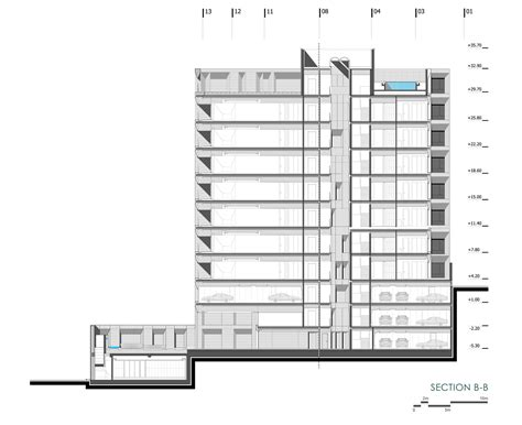 section of a building gallery of sipan residential building ryra studio 29