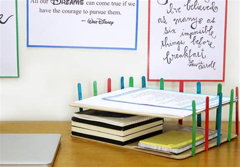diy desk organizer ideas diy desk organizer idea the craftables