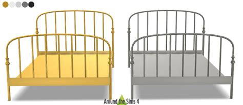 ikea lillesand bed frame ikea lillesand bed beds sims sims cc and