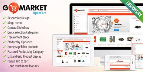 opencart template builder 45 responsive opencart shopping themes designssave