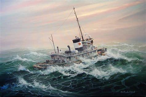 lobster boat in rough seas gallery