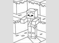 Printable Minecraft Zombie coloring page. | * Malebøger ... L For Lee Minecraft Skin
