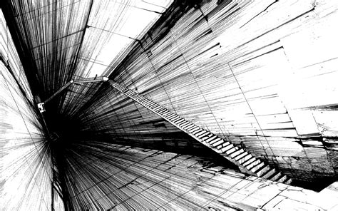 black  white abstract art  cool wallpaper