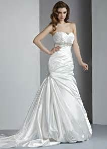 Strapless Wedding Dresses Sweetheart Strapless Mermaid Wedding Dresses And