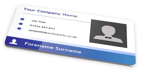design your own id card uk blue gradient business id card design by idcardexperts