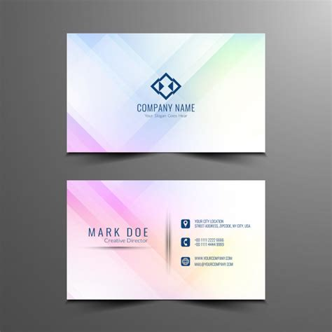 Office Business Card Templates Free