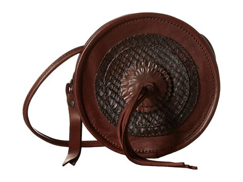 Layla Bag Brown frye layla concho circle bag in brown lyst