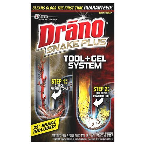 using drano in bathtub amazon com drano snake plus tool gel system health