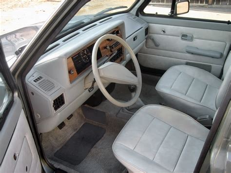 volkswagen rabbit truck interior diesel power 1981 volkswagen rabbit pickup lx
