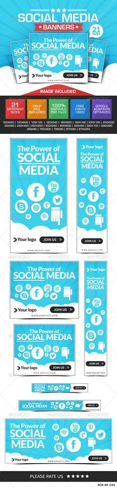 Pinterest The World S Catalog Of Ideas Social Media Banner Templates Free