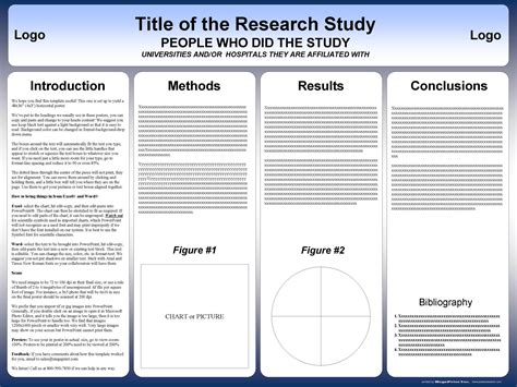 Poster Templates Free For Word research poster templates postersession