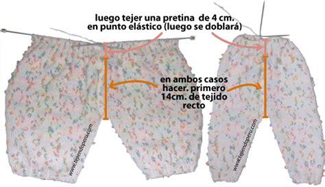 pantalones tejidos a palitos para recien nacidos pantal 243 n para beb 233 tejiendo per 250