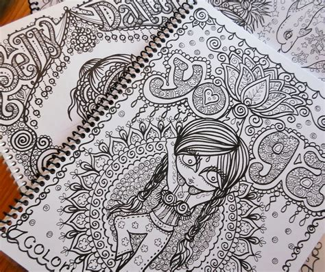 coloring books for adults for sale philippines free shipping sale 3 zentangle style coloring by chubbymermaid