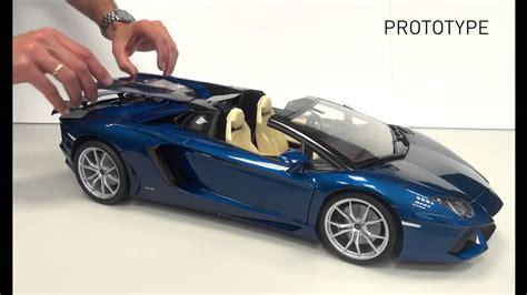 pocher lamborghini aventador lp700 4 roadster pocher 1 8 hk103 lamborghini aventador lp 700 4 roadster blu monterrey youtube