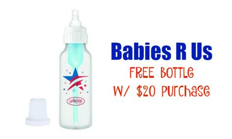 babies ru us babies r us coupon free bottle with 20 purchase