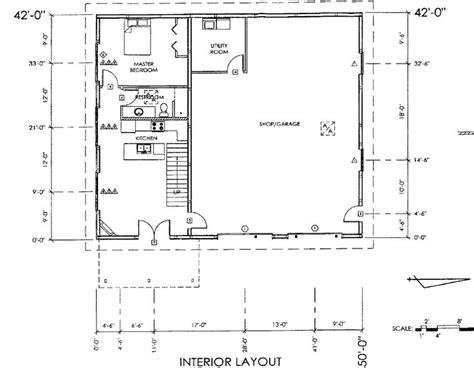shop building floor plans best 25 shop with living quarters ideas on pinterest