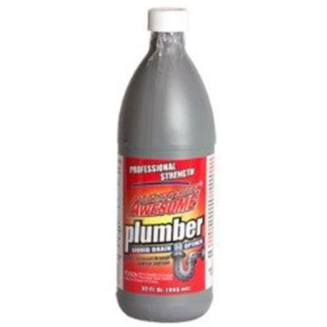 Liquid Plumber For Bathtub by La S Totally Awesome Plumber Liquid Drain Cleaner Review