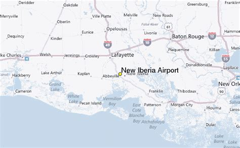 louisiana map new iberia new iberia airport weather station record historical