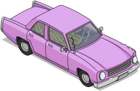 Wheels The Simpsons Homer Family Car Pink Sedan 2017 Hw Miniature simpsons pink sedan the simpsons tapped out addicts
