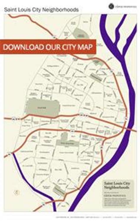 st louis neighborhood map walkable communities neighborhoods of character circa