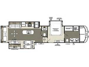 Forest River Fifth Wheel Floor Plans by 2015 Sandpiper 378fb Floor Plan 5th Wheel Forest River Rv