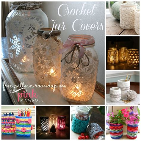 Jar Cover 3 free pattern crochet jar cover manet for