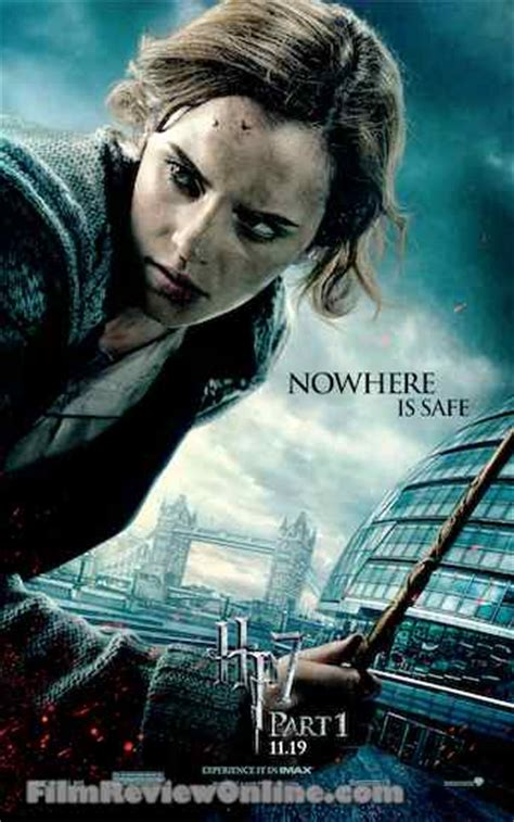 emma watson poster harry potter and the deathly hallows part 1 why emma