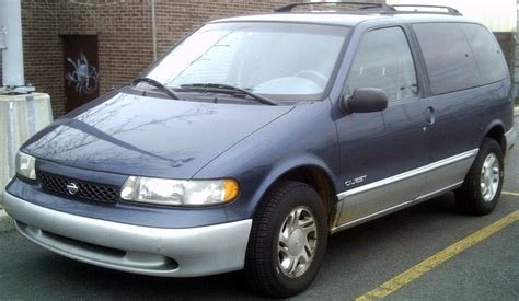 nissan quest 1996 1996 nissan quest information and photos zombiedrive