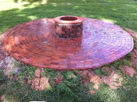 Firepit Brick Reuse Bricks For Outdoor Firepit Flames Pits Outdoor And