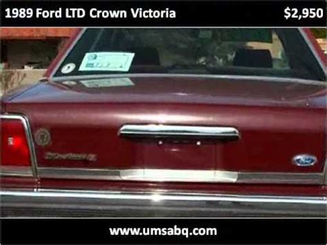 car engine manuals 1989 ford ltd crown victoria security system 1989 ford ltd crown victoria used cars albuquerque nm youtube
