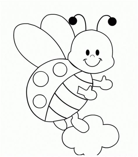 cute ladybug coloring page free coloring pages of cute lady bug