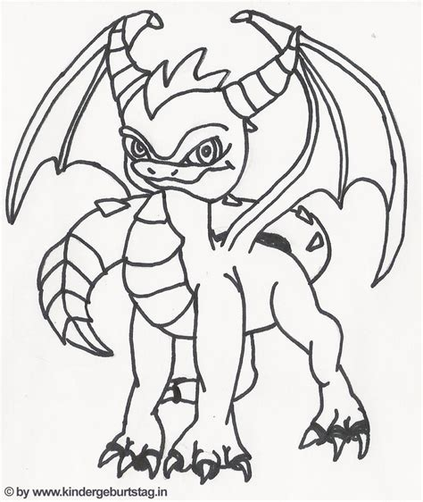 skylander birthday coloring page 20 best kids skylanders images on pinterest skylanders