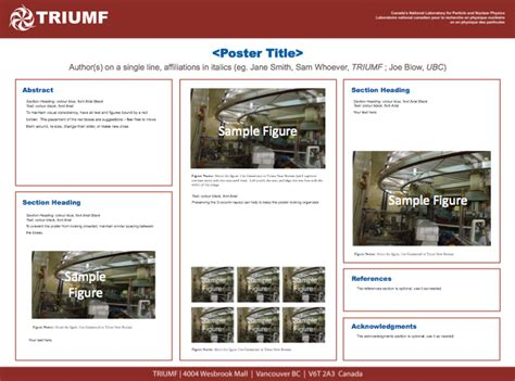 templates triumf canada s national laboratory for
