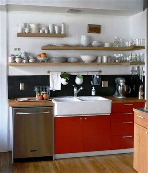 small kitchen open shelving open shelving and bright kitchen cabinets make this kitchen feel so fresh and chic what a