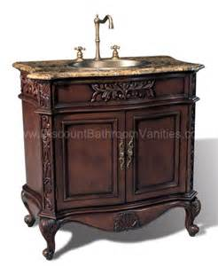 Antique Bathroom Furniture York 36 Quot Antique Single Sink Bathroom Vanity