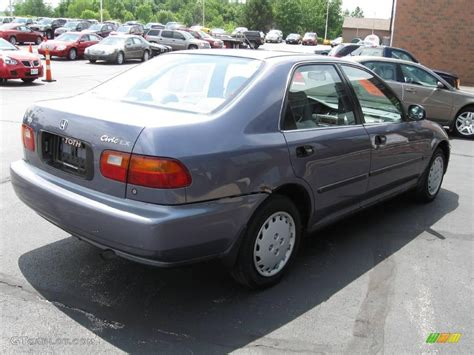 grey honda civic 1994 phantom gray pearl honda civic lx sedan 12046406